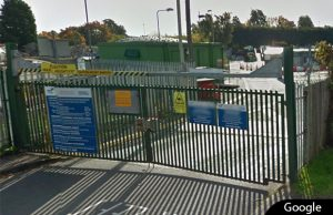 Lichfield Household Recycling Centre. Pic: Google Streetview