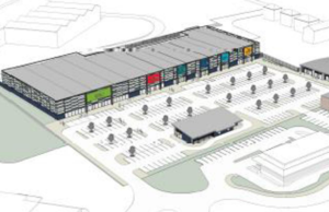 An artist's impression of the new Burntwood retail development