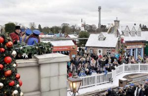 The KidsOut Magical Christmas event at Drayton Manor Park