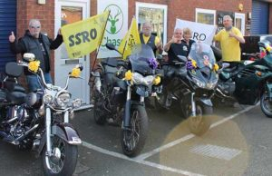 Bikers getting ready for the annual Stephen Sutton Ride Out
