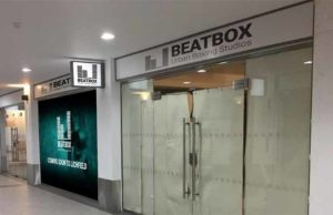 An artist's impression of the frontage to the new Beatbox Urban Boxing Studios in City Arcade