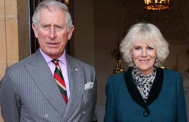The Prince of Wales and The Duchess of Cornwall. Pic: Northern Ireland Office