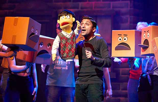 Anil Patel as Princeton in Avenue Q. Pic: Robert Yardley