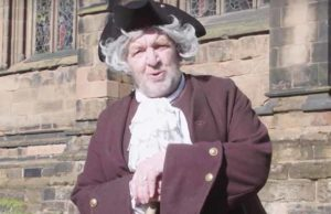 Ken Knowles as Samuel Johnson