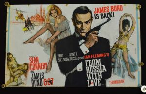 The poster for From Russia With Love
