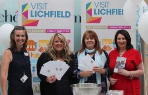 The relaunch of the new-look Visit Lichfield
