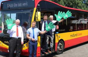 Midland Classic celebrating Catch the Bus Week
