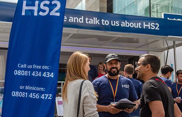 The HS2 Community Engagement centre