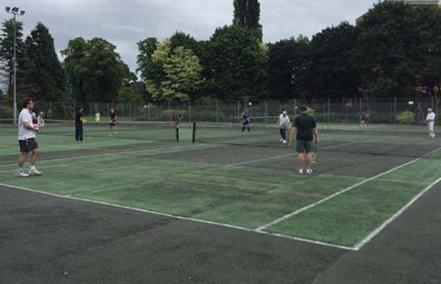 Beacon Park tennis courts