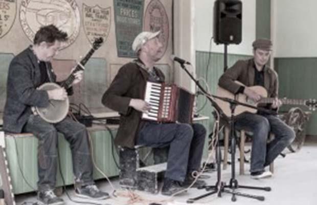 Harp and a Monkey band