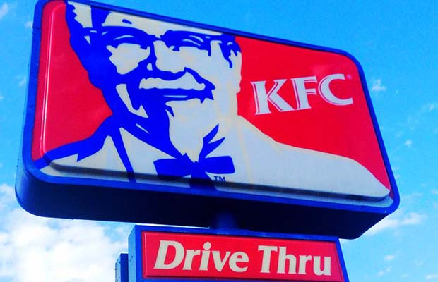 KFC sign. Pic: Mike Mozart