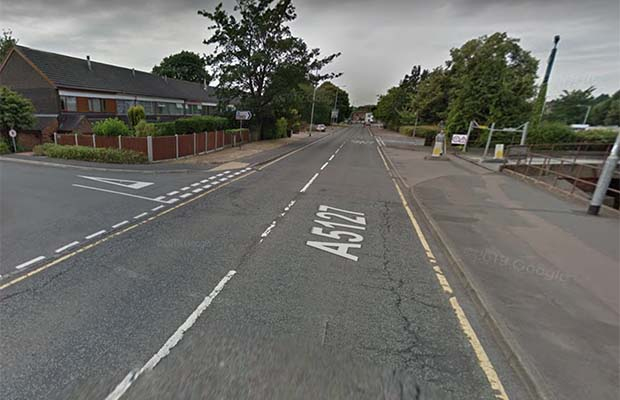 The Birmingham Road in Lichfield. Pic: Google Streetview