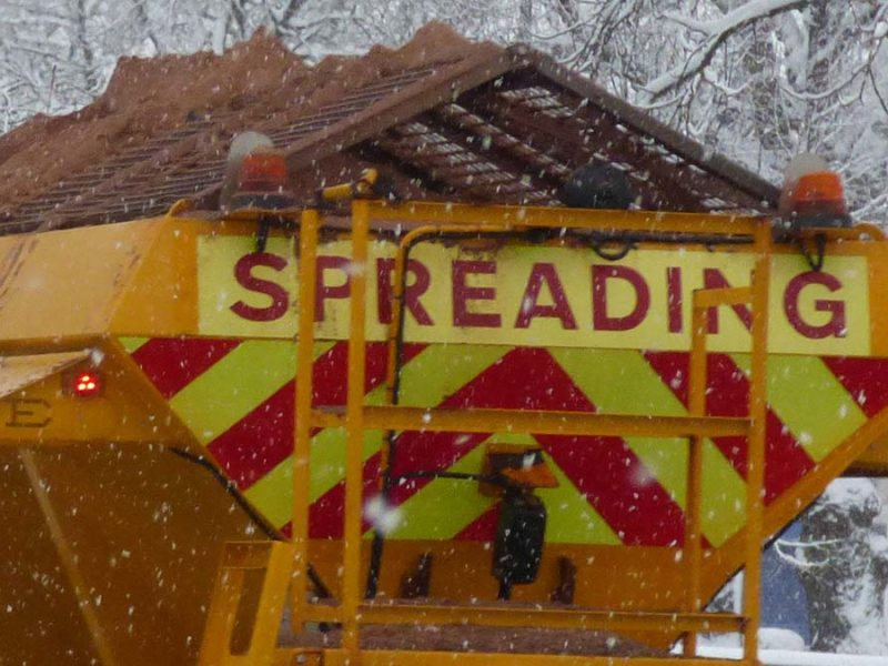 Gritting lorry. Picture: Elliot Brown
