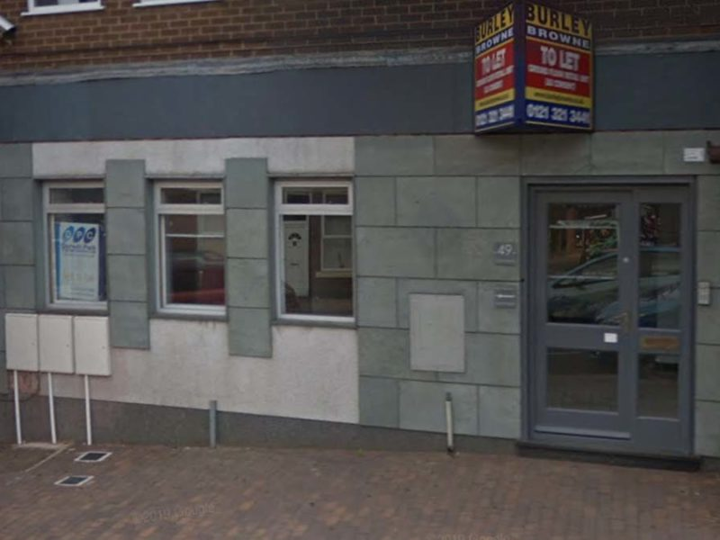 The former bank-turned-dance studio on Chasetown High Street