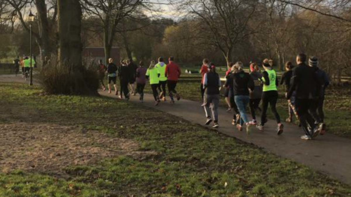 The Park Run trial event in Lichfield