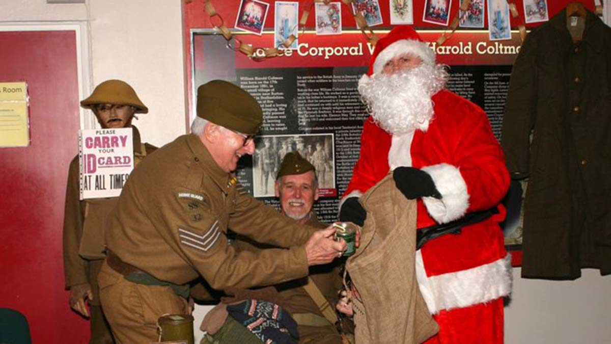 Wartime Christmas at the Staffordshire Regiment Museum