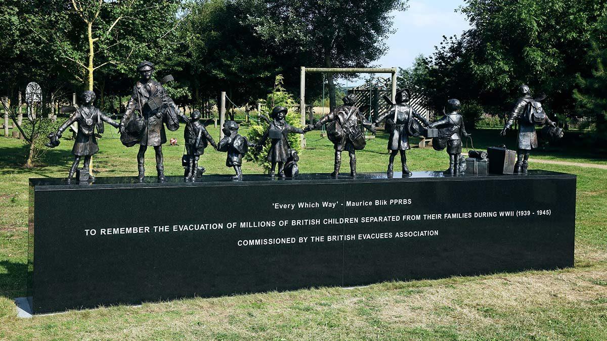 The Second World War evacuees memorial