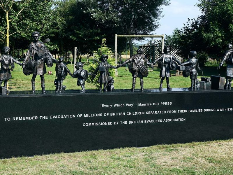 The Second World War evacuees memorial
