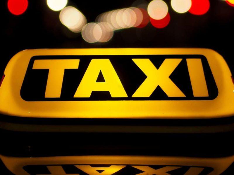 Taxi sign. Picture: Petar Milošević