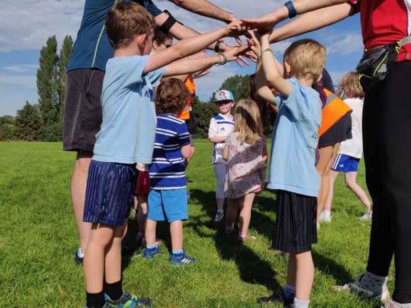 A Kids Run Free session