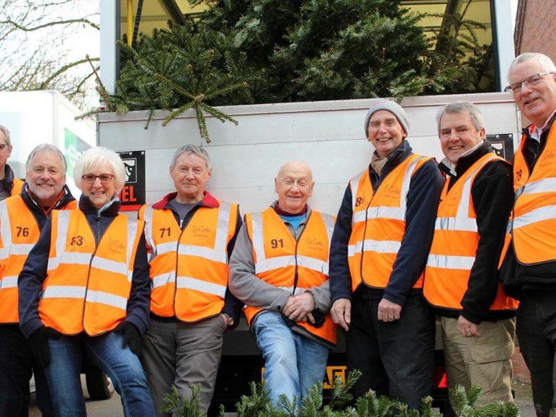 Treecycle volunteers
