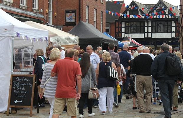 A festival in Lichfield