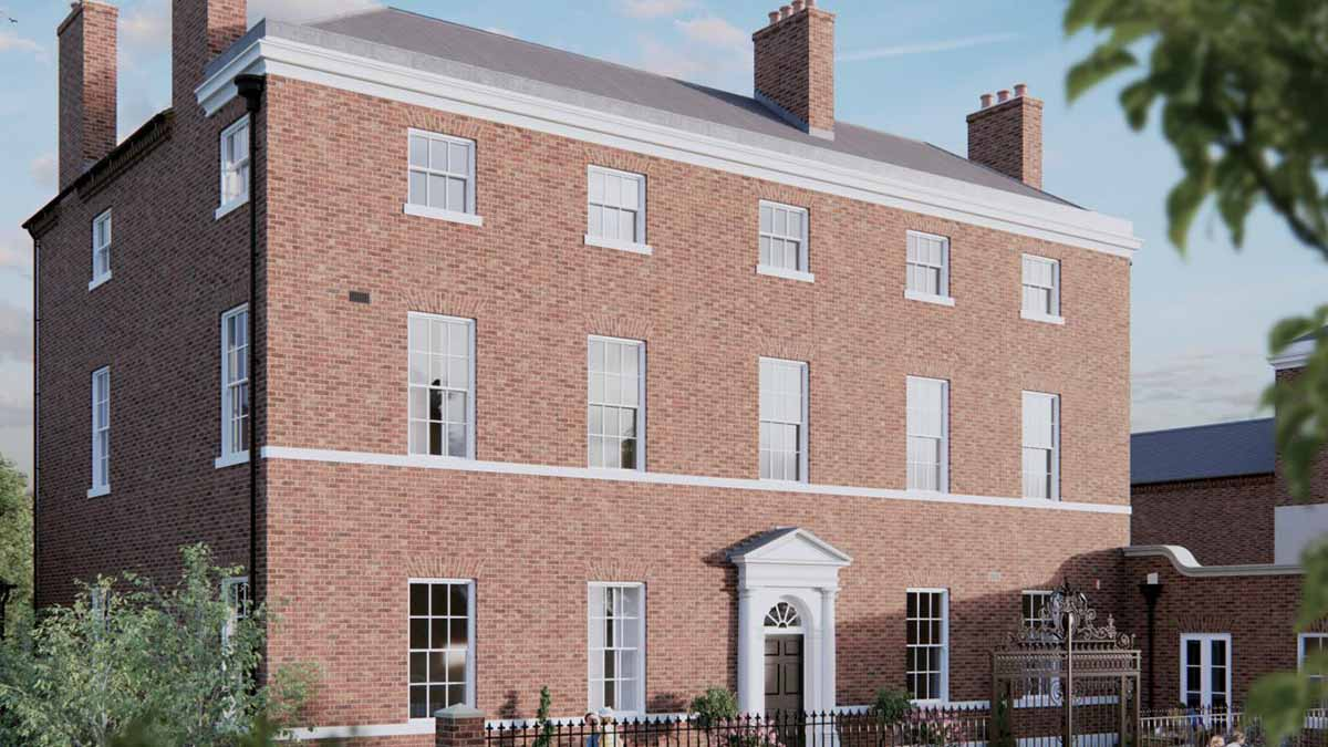 An artists' impression of the revamped Angel Croft site