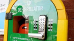 Lichfield MP backs calls for defibrillators to be installed at grassroots football clubs