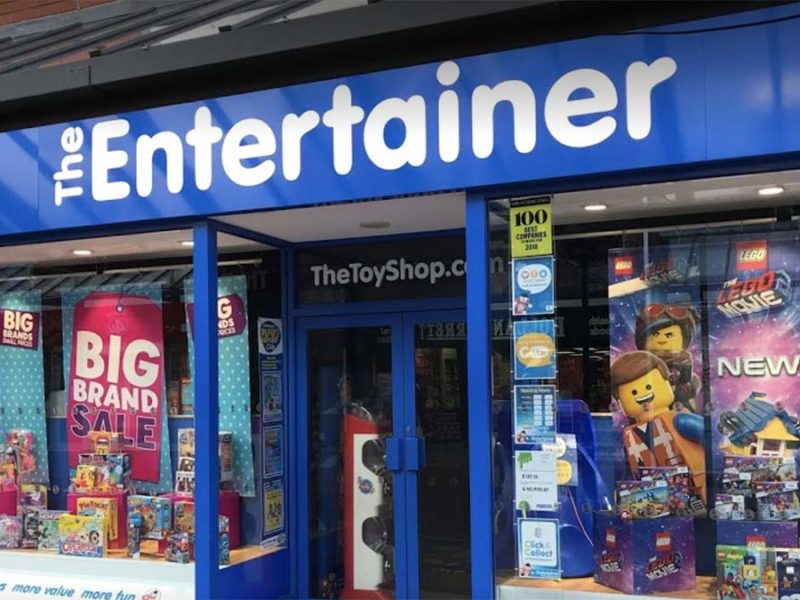 The Entertainer store in Lichfield. Picture: John Seedhouse