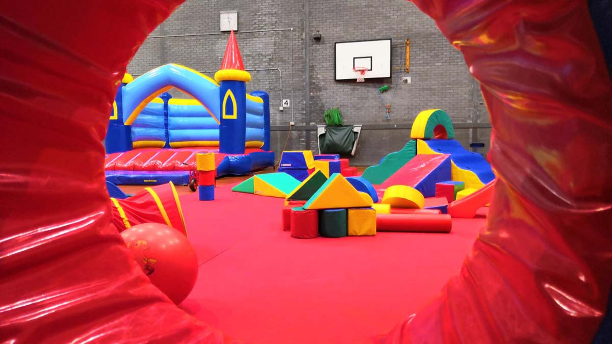 Soft play at Friary Grange Leisure Centre