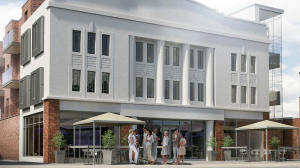 An artist's impression of the Old Picture House development where the Regal Cinema once stood