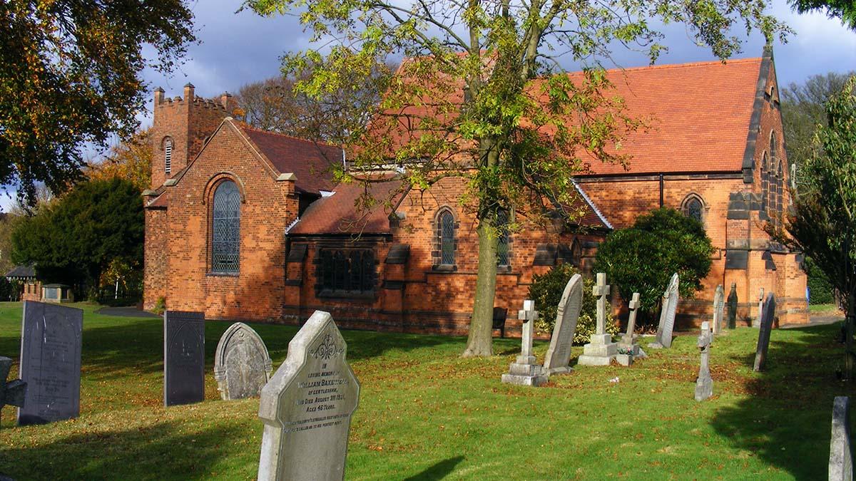 Christ Church Gentleshaw. Picture: R J Higginson