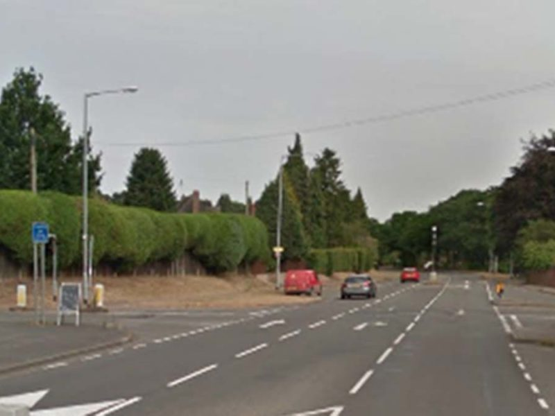 Part of the London Road into Lichfield. Picture: Google Streetview