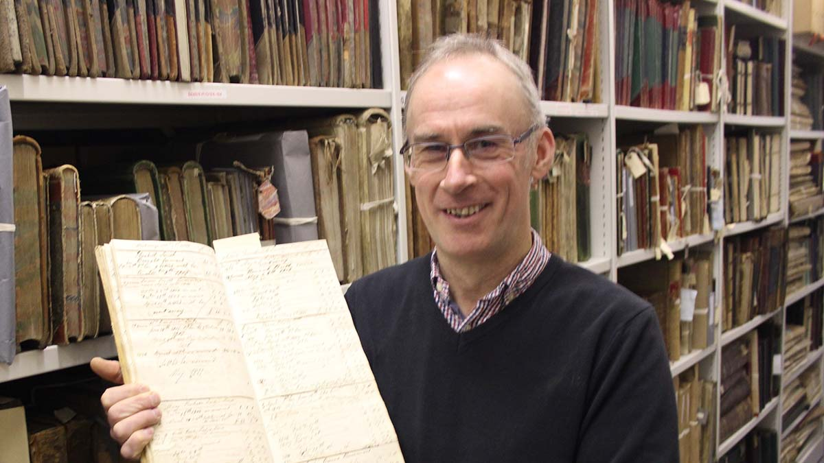 Chris Copp, senior museums officer at Staffordshire County Council