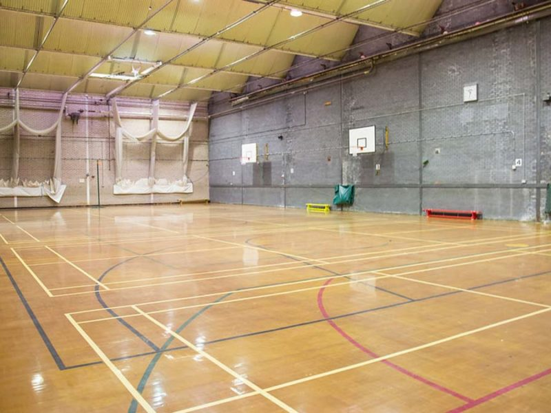 The sports hall at The Friary School