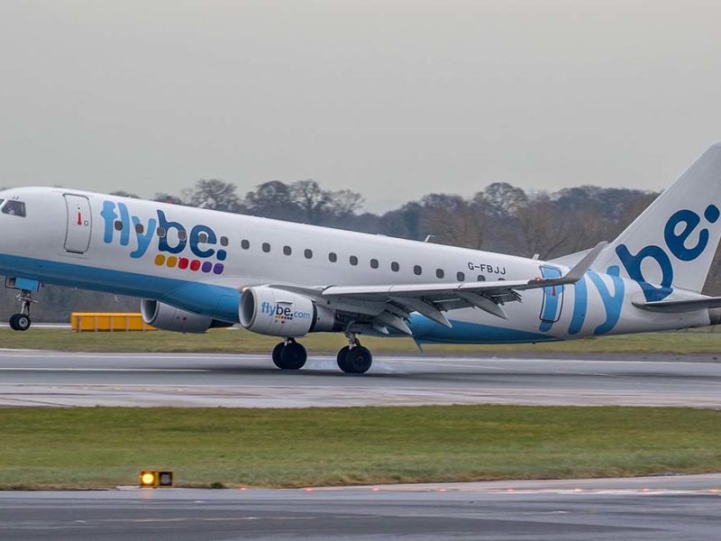 A Flybe aircraft. Picture: Russell Lee