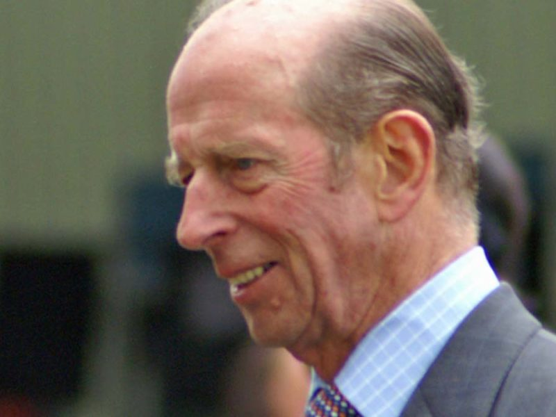 The Duke of Kent. Picture: David Merrett