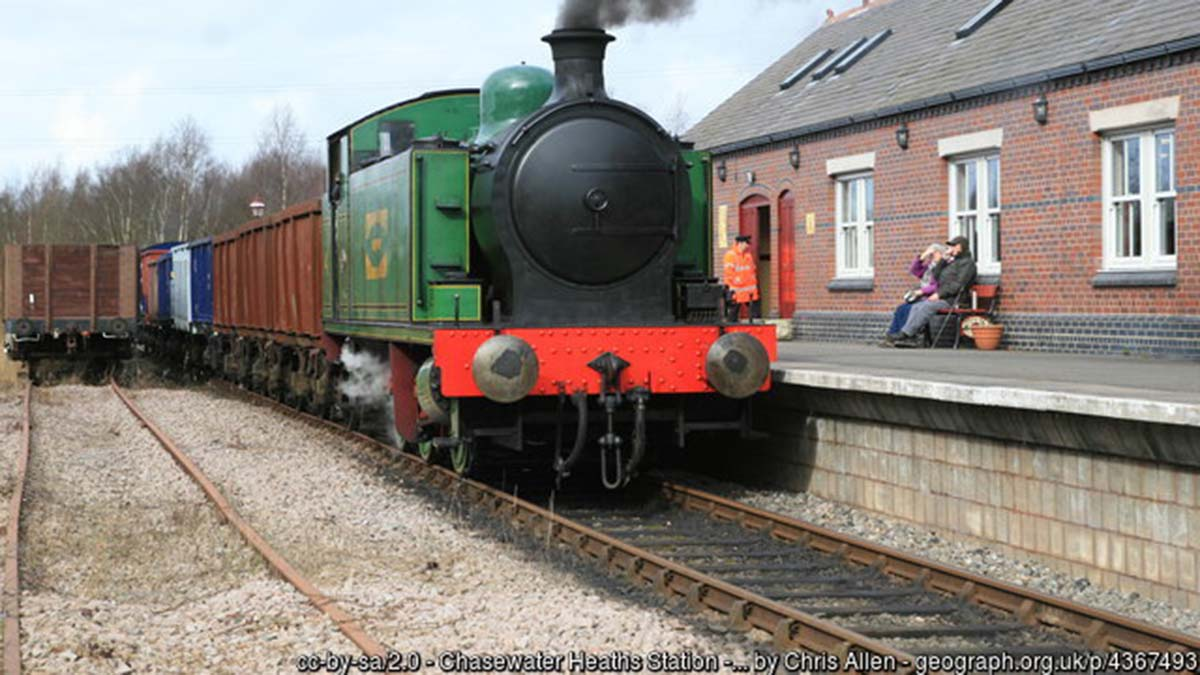 Chasewater Railway. Picture: Chris Allen