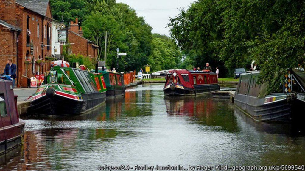 Fradley Junction. Picture: Roger Kidd