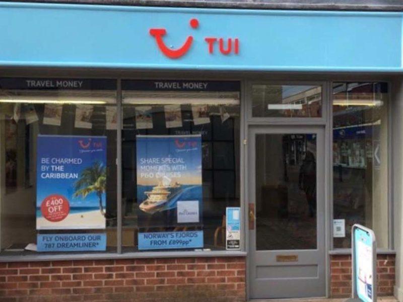 The Lichfield TUI store