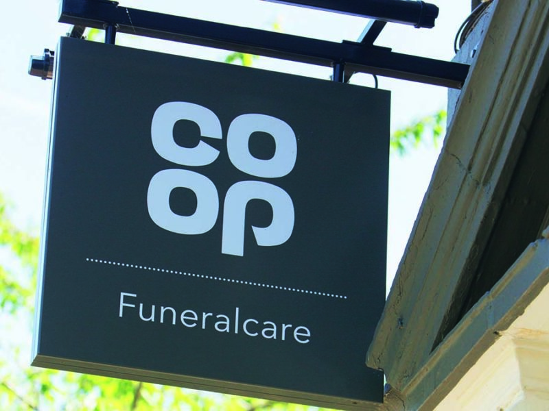 Co-op funeral care logo