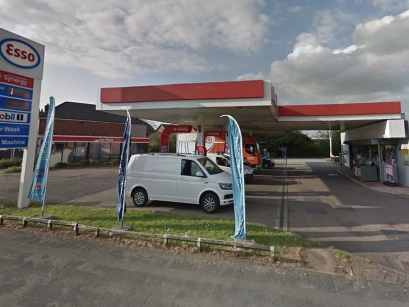 The MFG Springhill petrol station