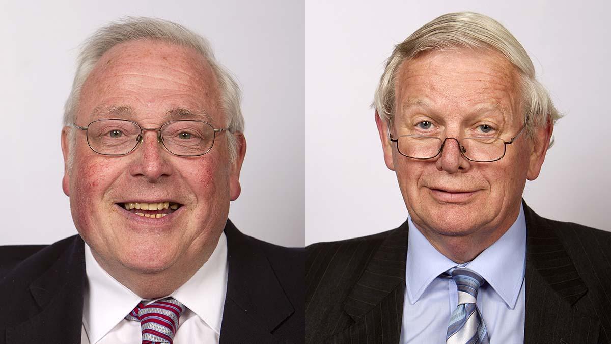 John Walker MBE and Neil Roberts
