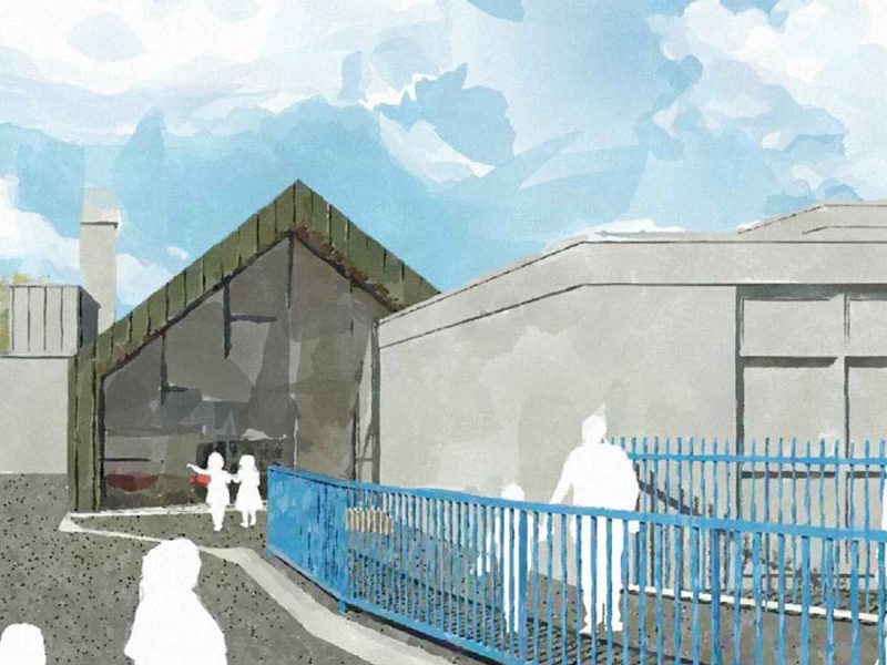 Willows Primary School artist's impression