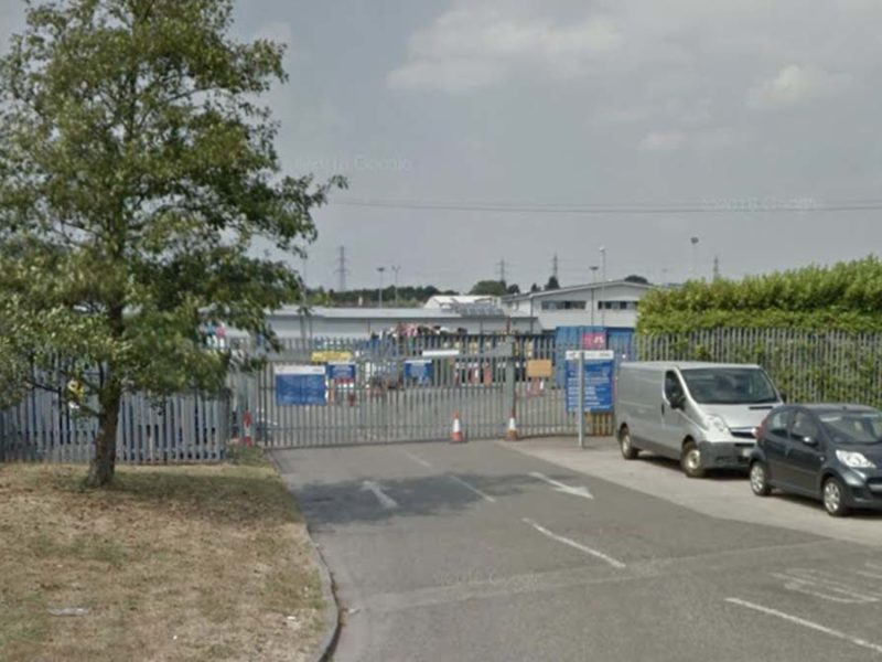 Burntwood Household Waste Recycling Centre. Picture: Google Streetview