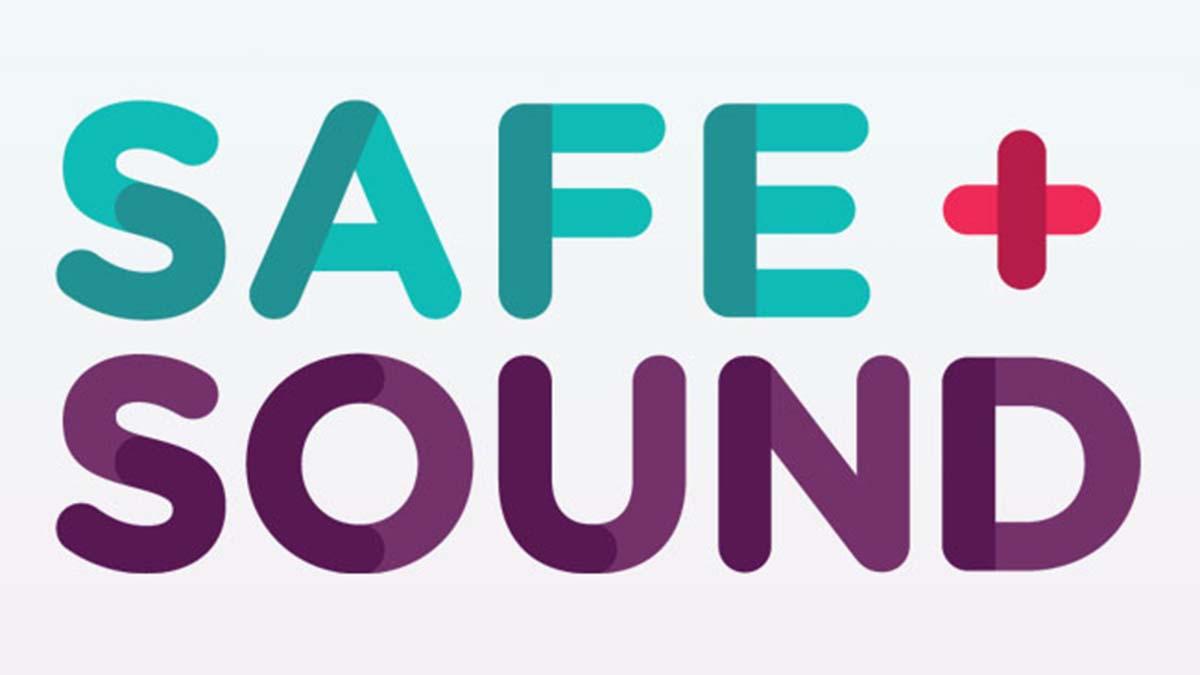 Safe+Sound logo