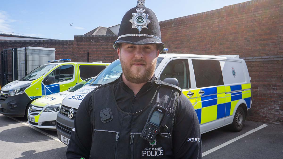A Staffordshire Police Special Constable