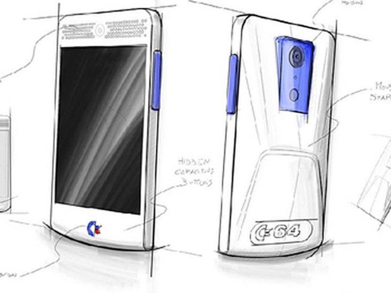 The Commodore 64 smartphone concept by Elite Systems