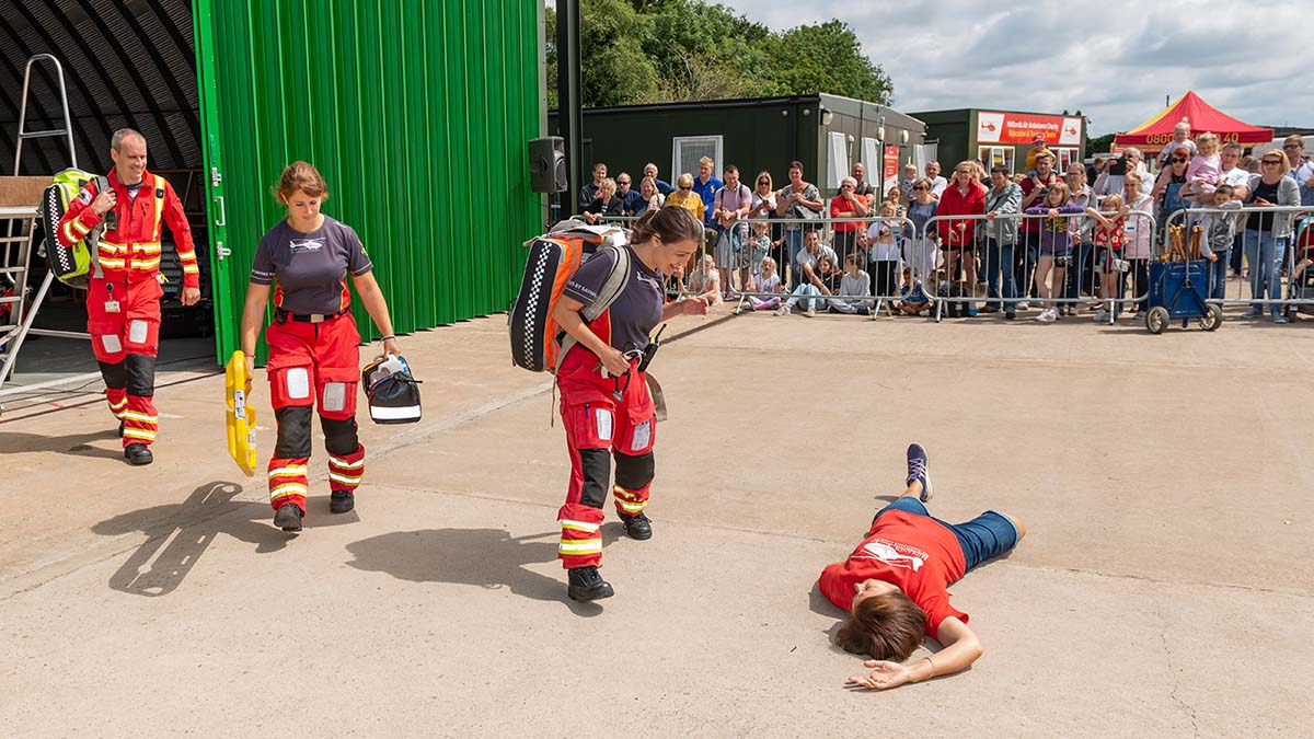 The 2019 Midlands Air Ambulance Charity open day