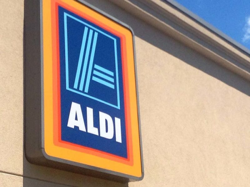 Aldi store sign. Picture: Mike Mozart